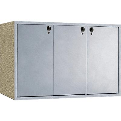 Mülltonnenbox Klassik 2432, dreifach