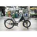 Bicyclette de transport à 3 vitesses, cadre en acier laqué, avec éclairage