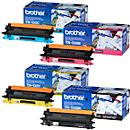 brother 4 cartouches de toner TN- 135 : noir, cyan, magenta, jaune