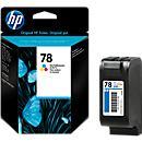 Cartouche HP n° 78, couleur (C6578DE)