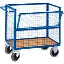 Draadrooster transportwagen, met of zonder deksel