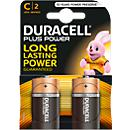 DURACELL® batterijen Plus Power, Baby C, 1,5 V