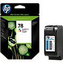HP Cartouche d'encre C6578AE, nr. 78, color