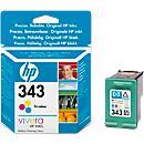 HP inkjet patroon C8766EE, nr 343, color
