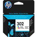 HP inktpatroon F6U65AE, nr. 362, color