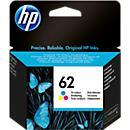 HP inktpatroon nr. 62, C2P06AE, tricolor