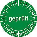 Keuringsvignetten, gekeurd (2017- 2022), Duitstalig