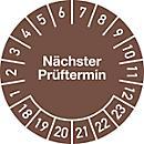 Prüfplakette, Nächster Prüftermin (2018- 2023)
