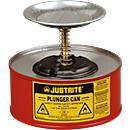 Récipient humecteur PREMIUM Line en tôle d'acier, rouge