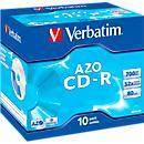 Verbatim® CD- R, tot 52x, 700 MB/ 80 min, 10 JewelCases