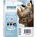 Voordeelpak 3 Epson inktpatronen T 10064010 cyaan/ magenta/ geel