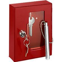Boîte à clés de secours, avec serrure