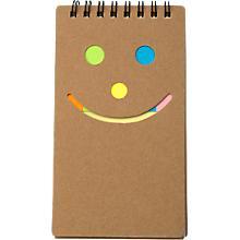 notizbuch-happy-face-karton-liniert-40-blatt-mit-haftnotizen