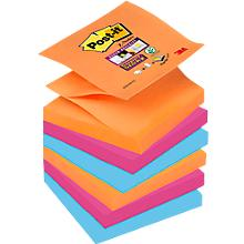 Post- it® Super Sticky Z-Notes, navulblokken, Bangkok, 76 x 76 mm, 6 blokken
