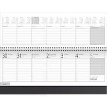 schreibtischquerkalender-project-schwarz-128-seiten