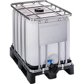 Gefahrgut IBC Behälter WERIT, mit Kunststoffpalette