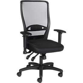 Prosedia Drehstuhl YOUNICO plus 8 Design, ohne Armlehnen, schwarz