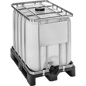Standard IBC Behälter WERIT, mit Kunststoffpalette
