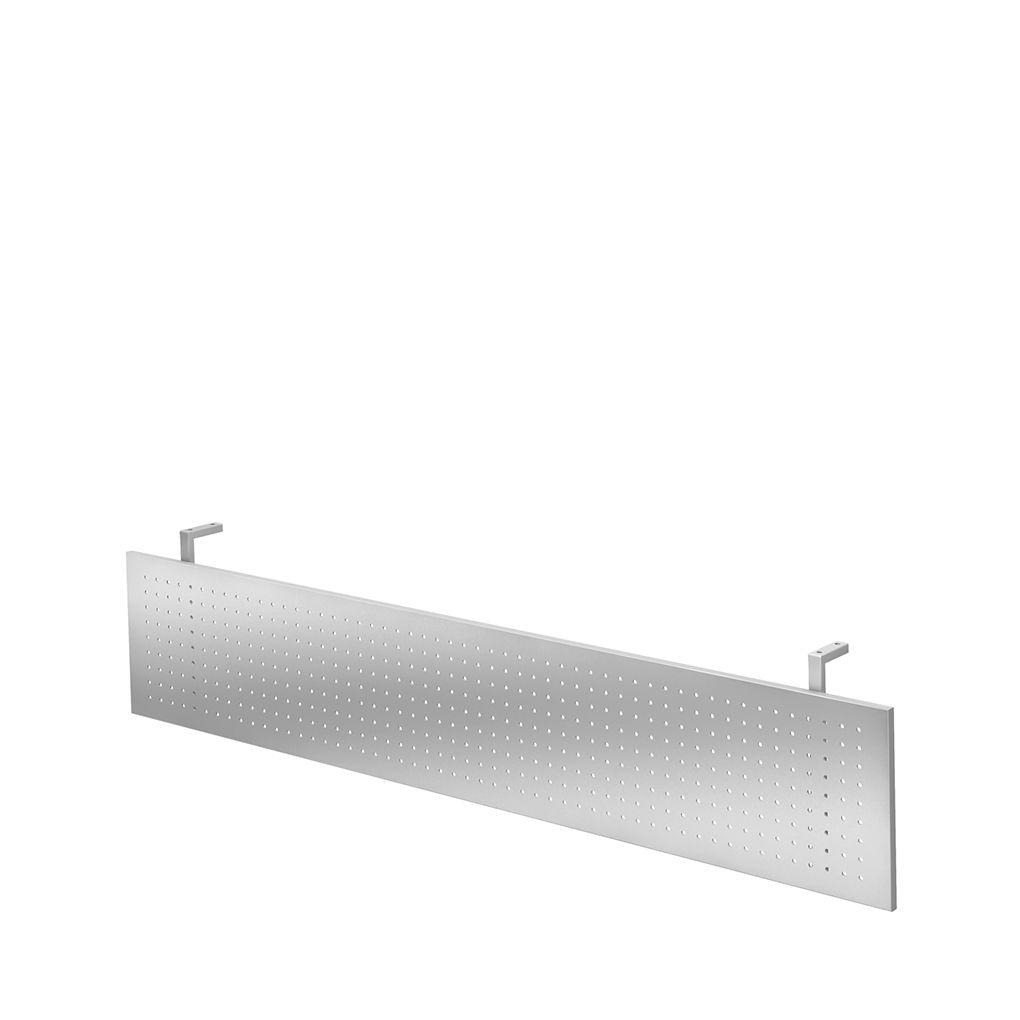 sichtblende ulm aus metall gelocht f r schreibtische ulm b 1800 mm g nstig kaufen sch fer shop. Black Bedroom Furniture Sets. Home Design Ideas