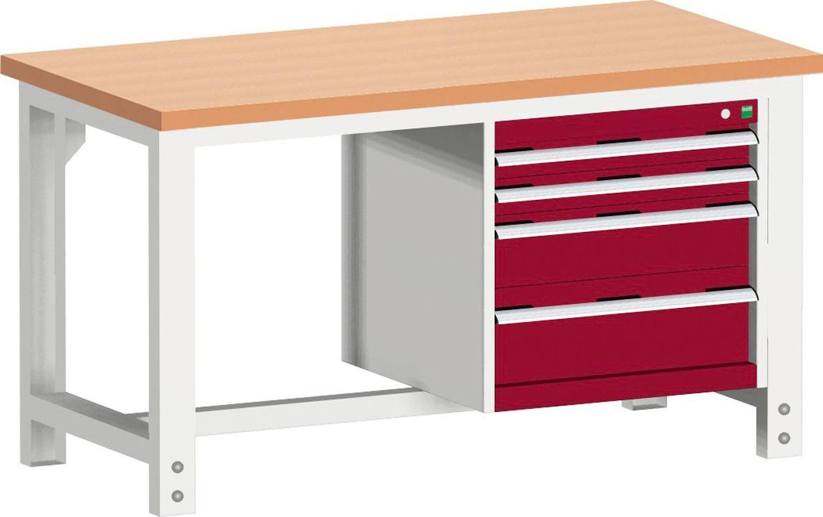 werkbank cubio w 1577 11 2 8 g nstig kaufen sch fer shop. Black Bedroom Furniture Sets. Home Design Ideas