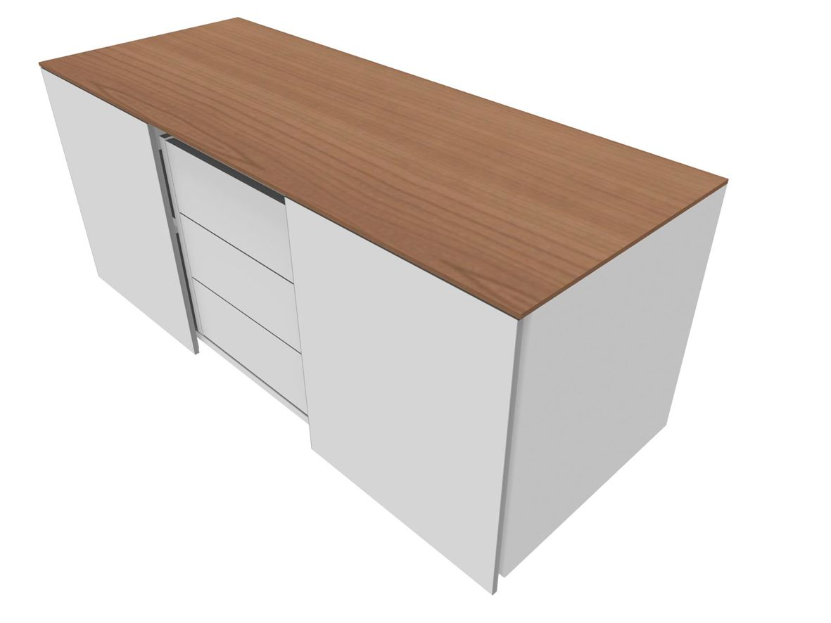 multicontainer ohne griff 2 schiebet ren 3 sch be g nstig kaufen sch fer shop. Black Bedroom Furniture Sets. Home Design Ideas