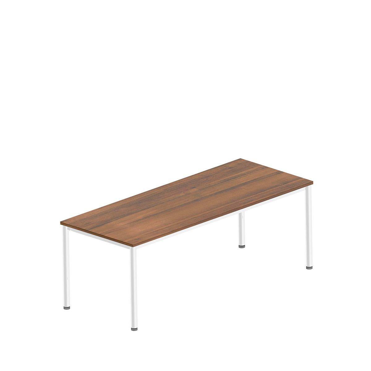 bureau pieds en tube rond acheter bon march sch fer shop. Black Bedroom Furniture Sets. Home Design Ideas