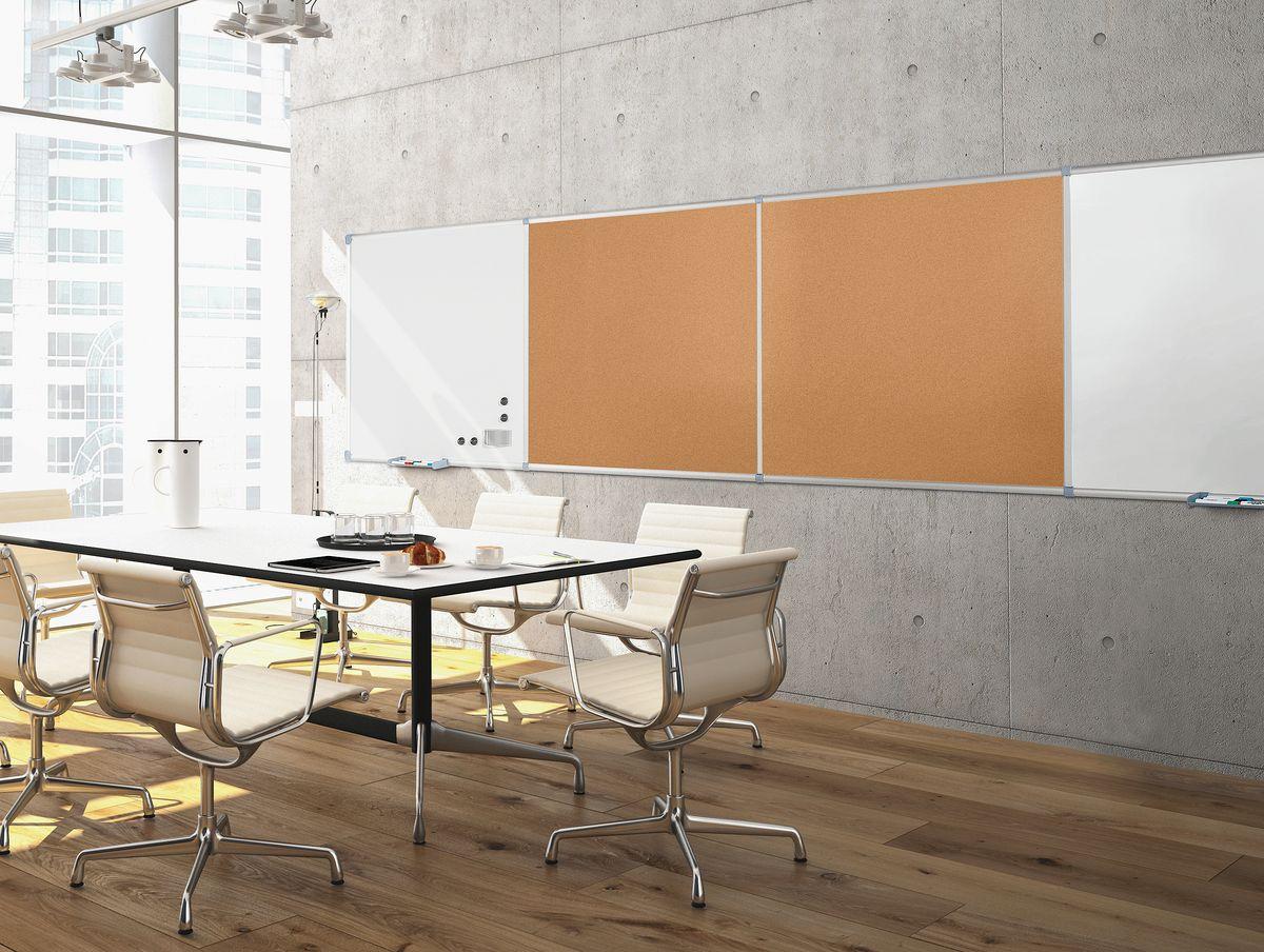 maul pinnwandtafel set kork inkl 2 grundmodule g nstig kaufen sch fer shop. Black Bedroom Furniture Sets. Home Design Ideas