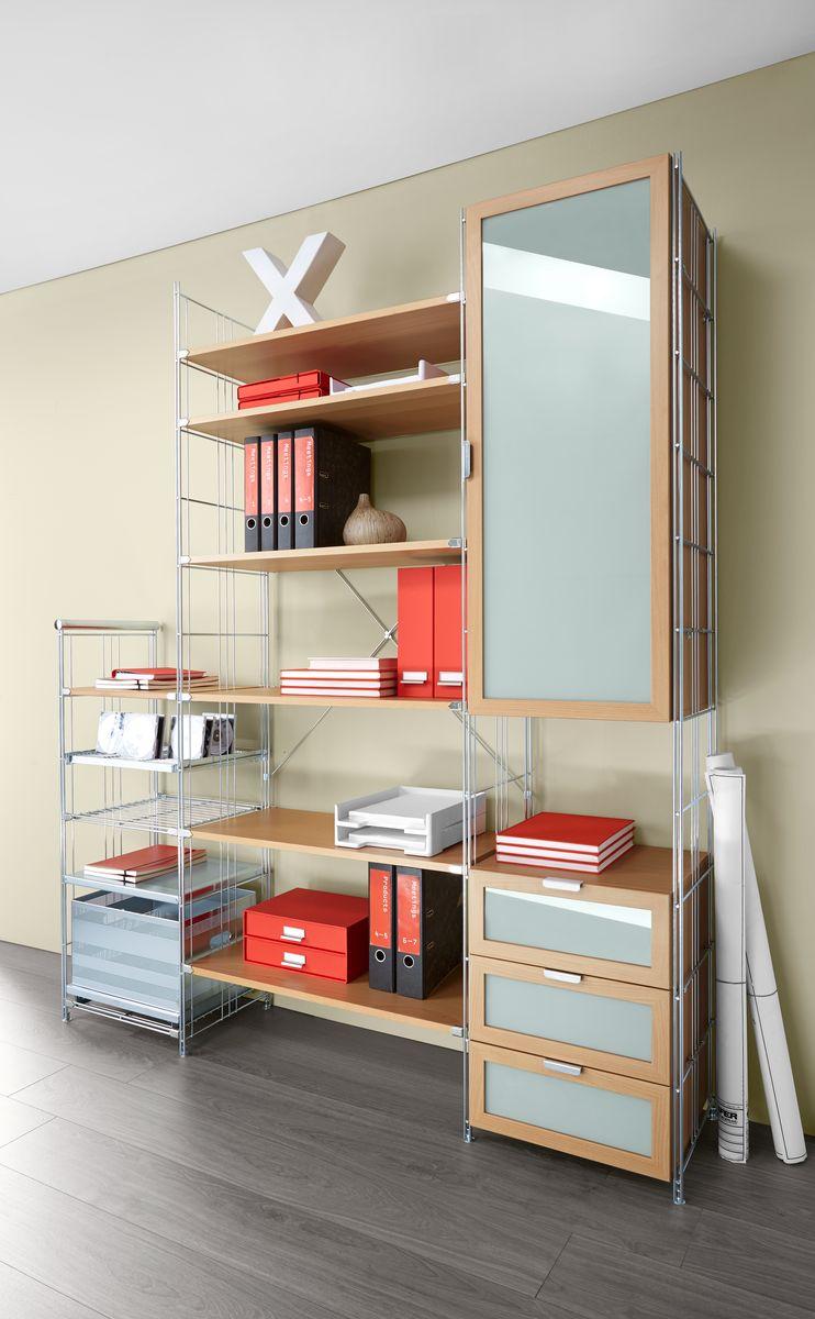chromregal balton b iii containerauszug g nstig kaufen sch fer shop. Black Bedroom Furniture Sets. Home Design Ideas