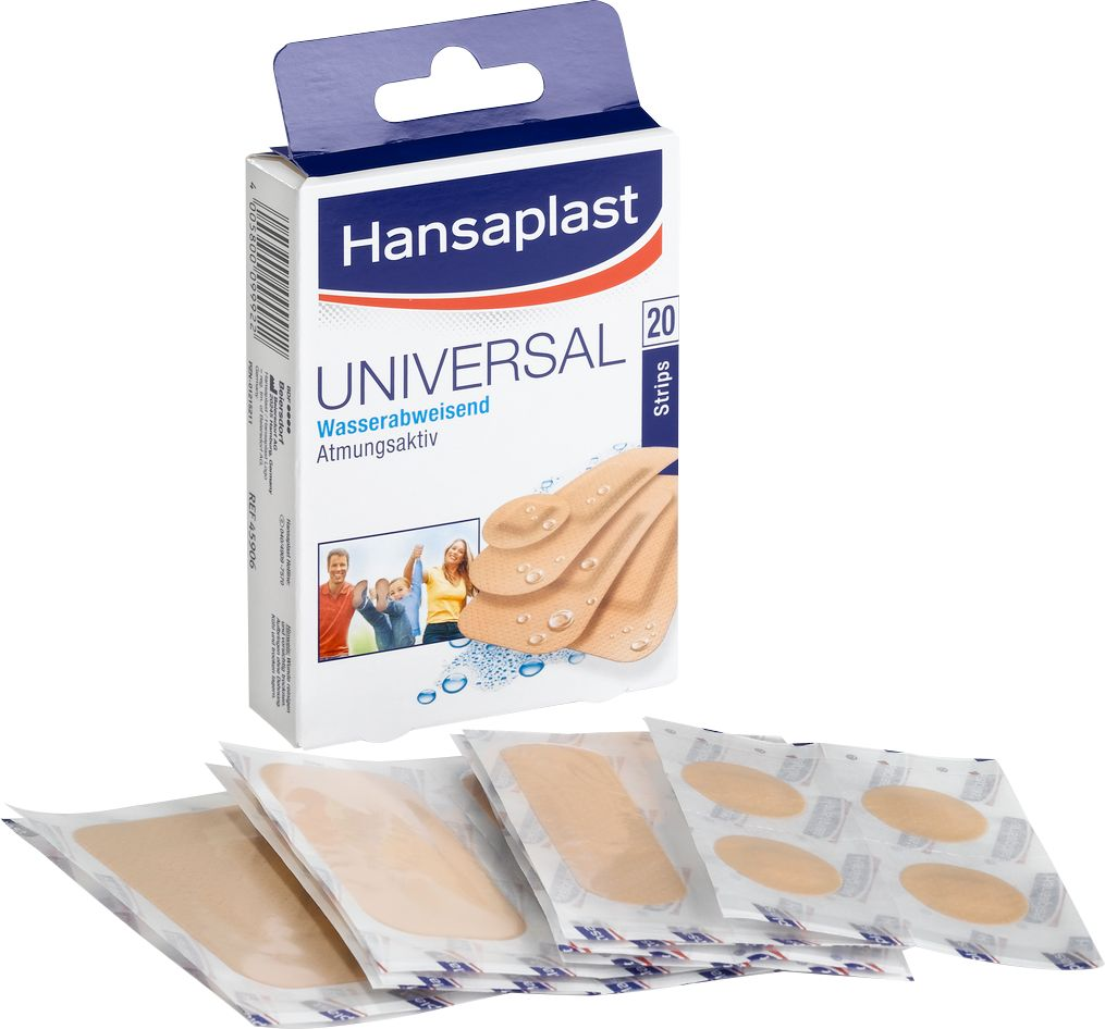 hansaplast pflaster strips water resistant g nstig kaufen sch fer shop. Black Bedroom Furniture Sets. Home Design Ideas