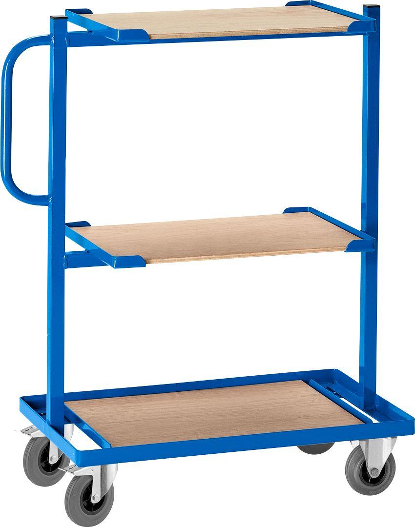 beistellwagen mit offenen etagenb den ohne holzplatten fest g nstig kaufen sch fer shop. Black Bedroom Furniture Sets. Home Design Ideas