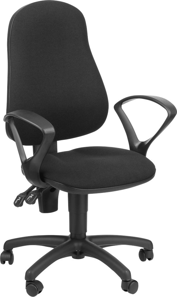 b rostuhl ergotop mit armlehnen ergonomische lehne breite sitzfl che g nstig kaufen sch fer. Black Bedroom Furniture Sets. Home Design Ideas