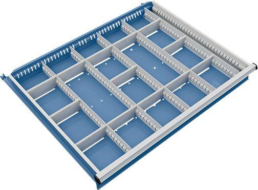 trennwand mit 5 l ngs und 13 querteiler f r schubladenschrank 910 mm breit g nstig kaufen. Black Bedroom Furniture Sets. Home Design Ideas