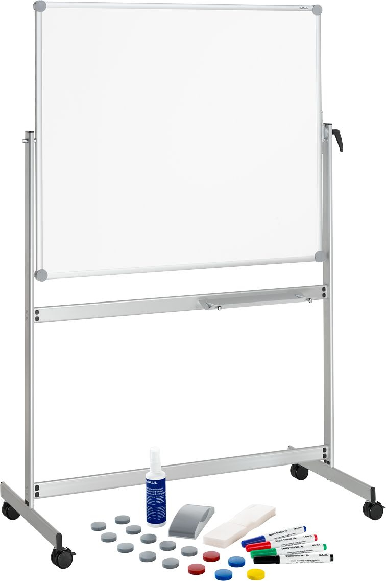 whiteboard maulpro mobil drehbar inklusive gratis starterkit g nstig kaufen sch fer shop. Black Bedroom Furniture Sets. Home Design Ideas