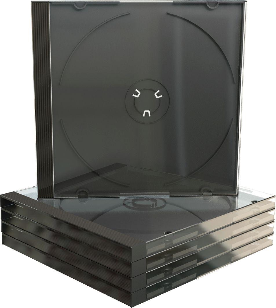 cd dvd leerh lle transparent schwarzer tray jewelcase. Black Bedroom Furniture Sets. Home Design Ideas