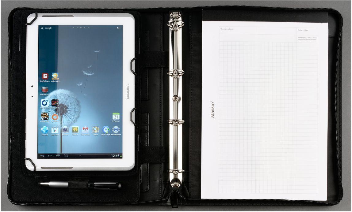 orgamappe a4 f r tablet pc schwarz g nstig kaufen sch fer shop. Black Bedroom Furniture Sets. Home Design Ideas