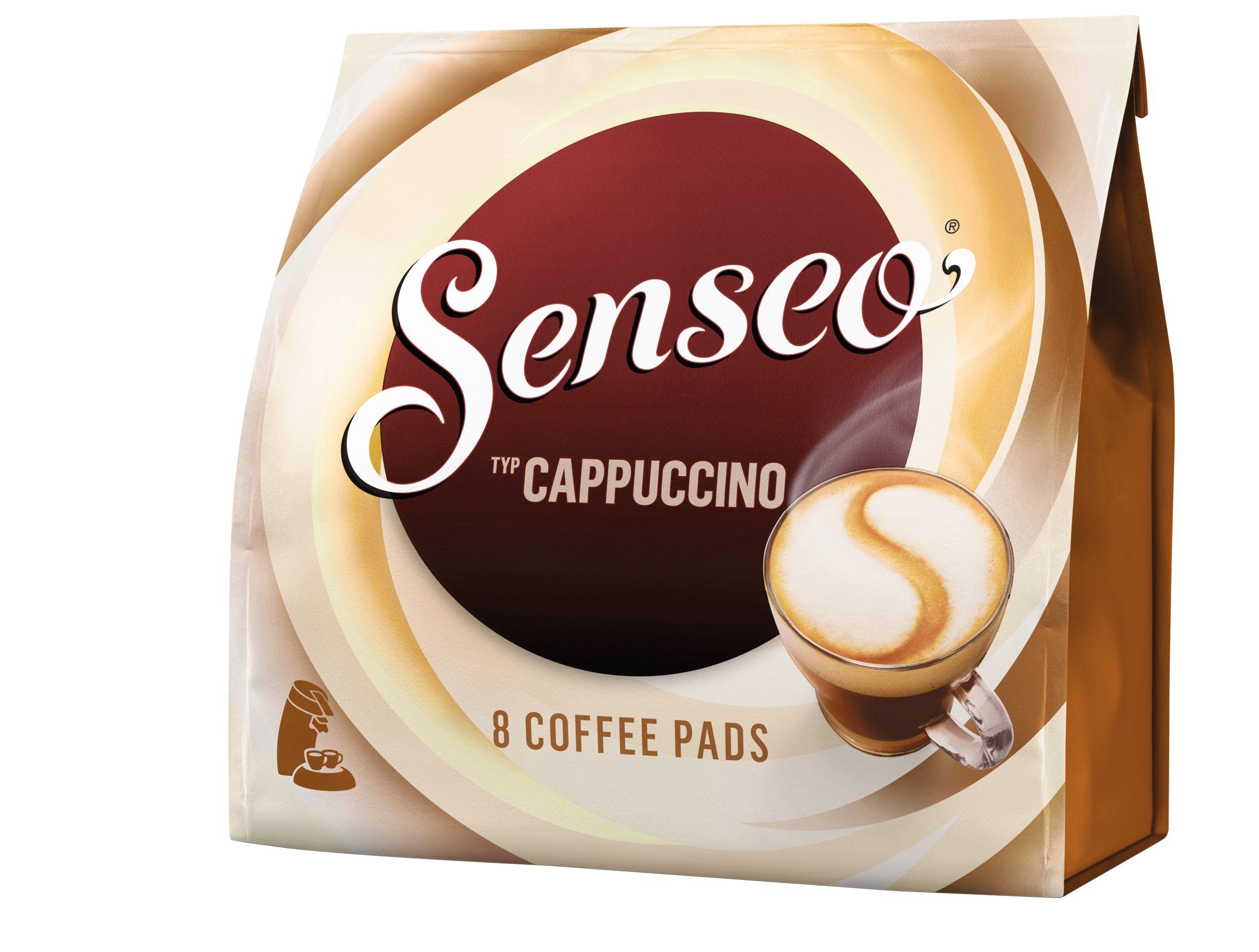 senseo pads cappuccino g nstig kaufen sch fer shop. Black Bedroom Furniture Sets. Home Design Ideas