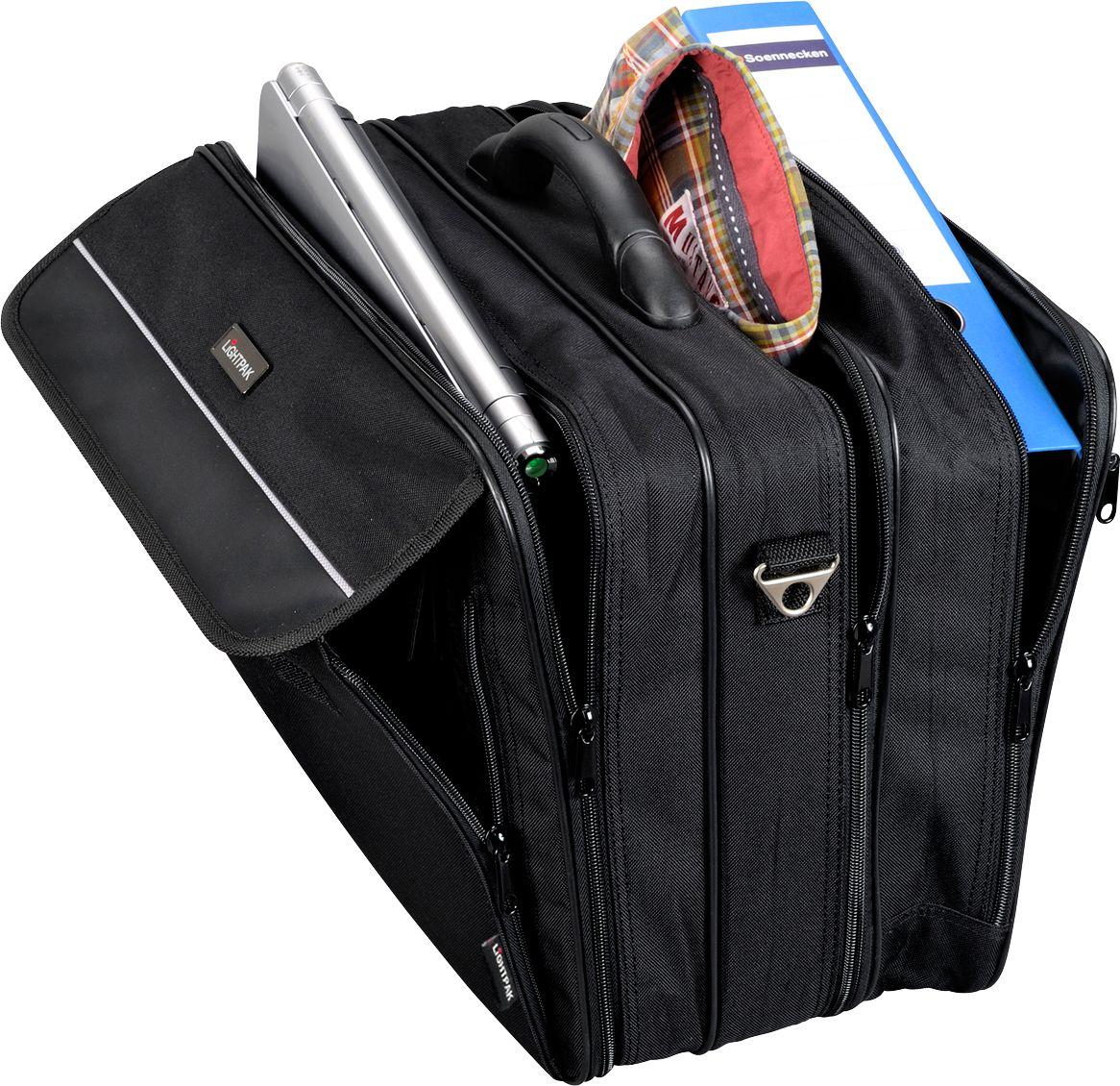 lightpak notebook tasche corniche f 17 zoll laptops 3. Black Bedroom Furniture Sets. Home Design Ideas