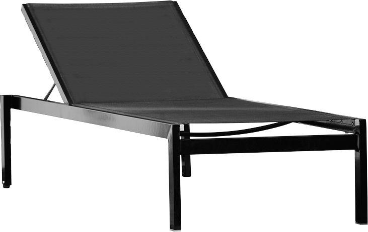 Chaise longue empilable quadrato acheter bon march for Acheter chaise longue