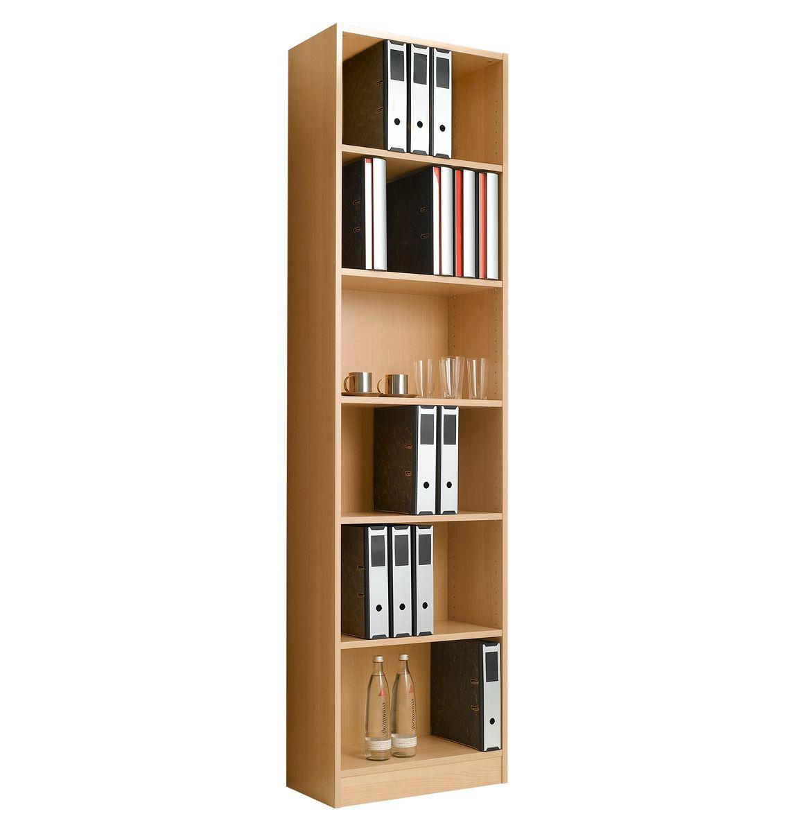 regal tombo hoch schmal b 600 mm g nstig kaufen sch fer shop. Black Bedroom Furniture Sets. Home Design Ideas
