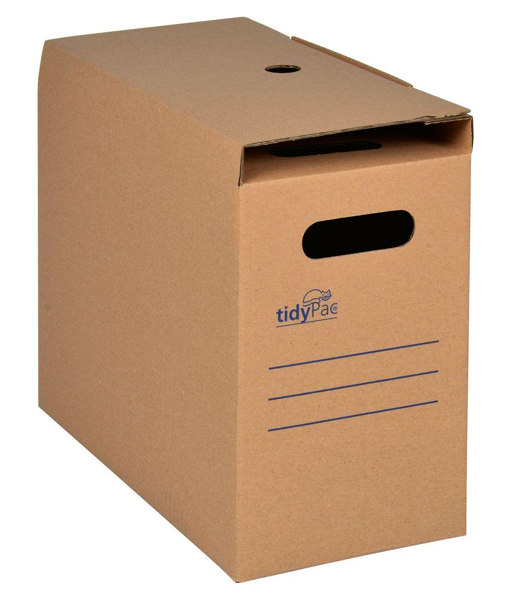 tidypac archivbox f r 25 h ngemappen pappe 5 st ck. Black Bedroom Furniture Sets. Home Design Ideas
