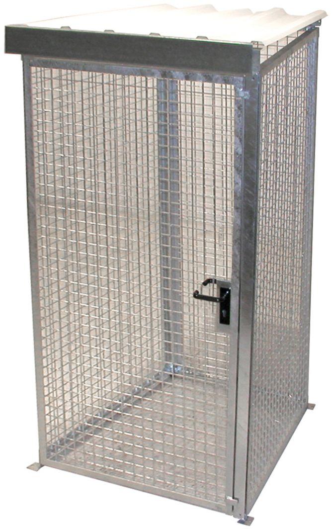 gasflaschen container mit dach g nstig kaufen sch fer shop. Black Bedroom Furniture Sets. Home Design Ideas