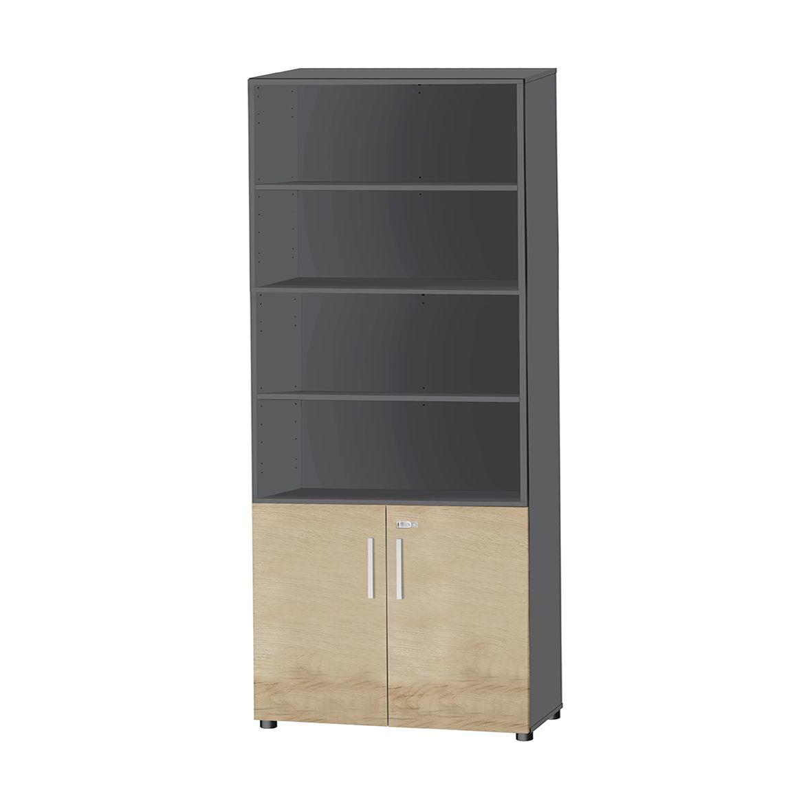 kombischrank set up 6 oh oben 4 oh regalf cher unten 2 oh mit t ren g nstig kaufen sch fer shop. Black Bedroom Furniture Sets. Home Design Ideas