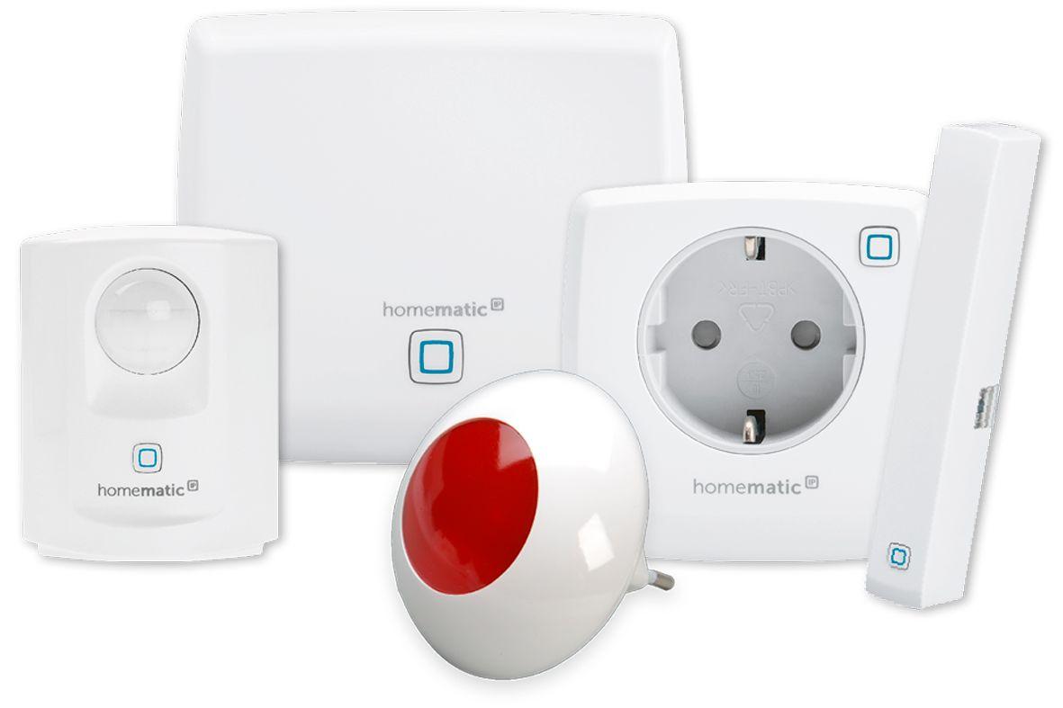 homematic ip sicherheits set plus 4 teilig smart home g nstig kaufen sch fer shop. Black Bedroom Furniture Sets. Home Design Ideas