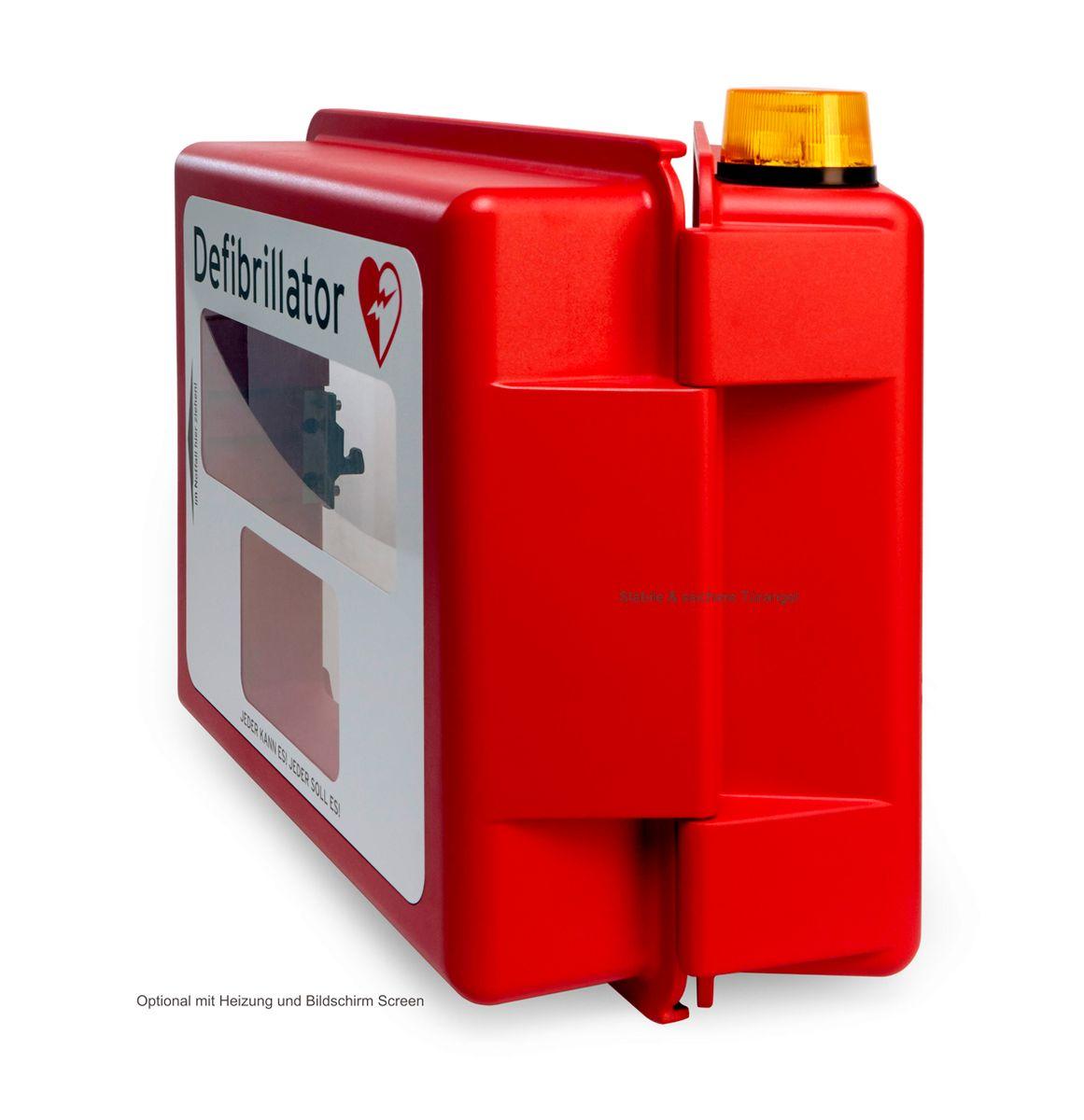 defibrillator hartschalen wandkasten akustischer und optischer alarm mit heizung g nstig. Black Bedroom Furniture Sets. Home Design Ideas
