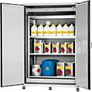 Armário para produtos perigosos Asecos XL- CLASSIC, tipo 90, com sistema de prateleiras ou grelha, 111- 230 l
