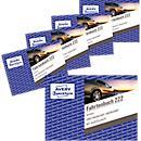 Avery Zweckform 222- 5 Fahrtenbuch für PKW, A6 quer, 40 Blatt, 4er Pack + 1 gratis