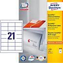 AVERY® Zweckform Universal- Etiketten 3670, 64 x 36 mm, 2100 Stück