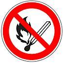 """Aviso """" Proibido fumar ou foguear"""""""