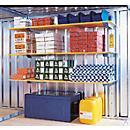 Compleet magazijnrek, voor materiaalcontainer MC 1100- 1600