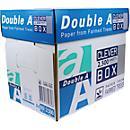 Double A Papier copieur, A4, 80 g/ m², boîte de 2500 feuilles
